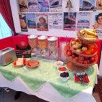 Frühstücksbuffet im Strandhotel Villa Louisa